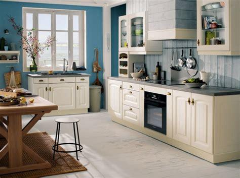 bleu orleans cuisine dcoration cuisine blanche couleur mur cuisine blanche 33