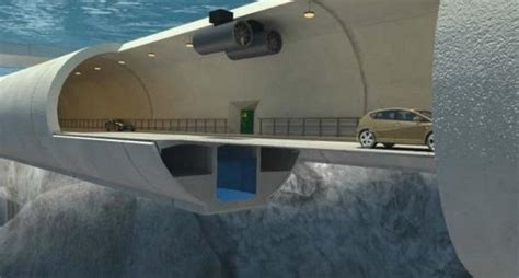 norway considers floating tunnels  cross fjords news