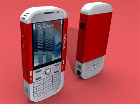 Buy Nokia 5700 3d Model