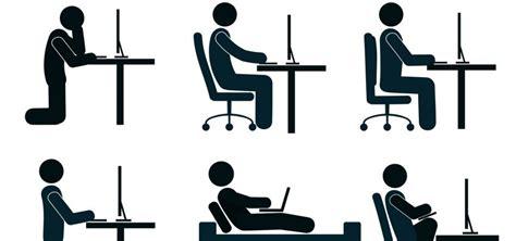 siege assis genoux 5 astuces pour adopter une bonne posture assise au travail