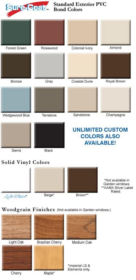 colors woodgrains grids replacement windows st louis