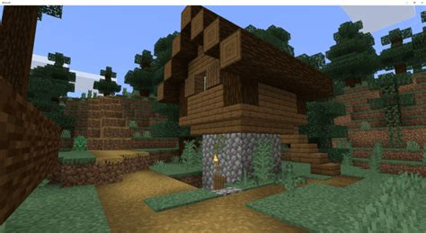 spruce villages   ruined portal  spawn minecraft pe seed