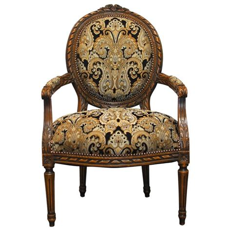 fauteuil style louis xvi 19th century louis xvi style fauteuil armchair at 1stdibs