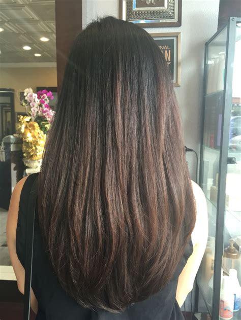 Long Layered Hair With U Shape My Stuff Pinterest
