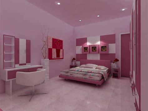 romantic pink color  minimalist bedroom  ideas
