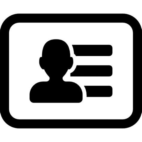 gegevens visitekaartje een met contactgegevens iconen Contact