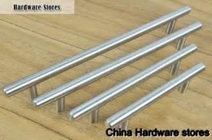 furniture hardware modern solid stainless steel kitchen cabinet handles bar t handle c c 320mm - Kitchen Furniture Handles