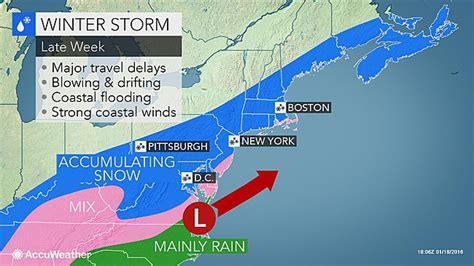 weather update details released  noreaster major