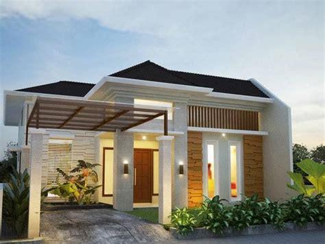 rumah minimalis modern  inspirasi desain terpopuler
