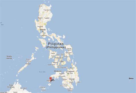 zamboanga map  zamboanga satellite image