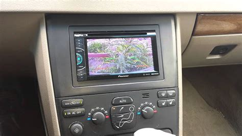 xc aftermarket stereo reverse camera youtube