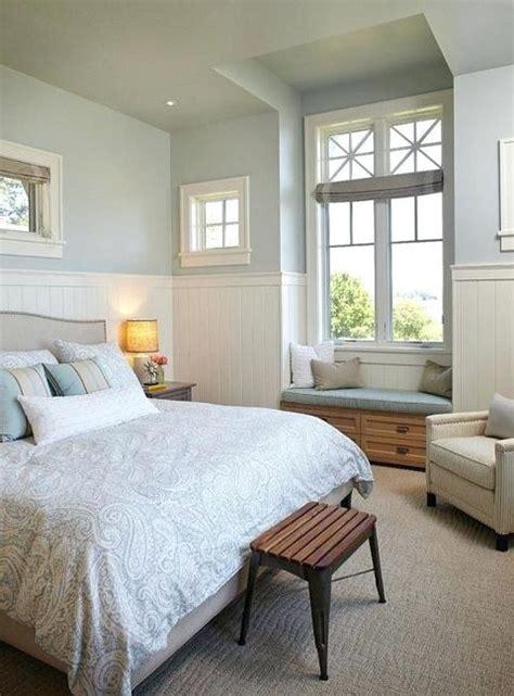 elegant grayish blue  white room colors modern