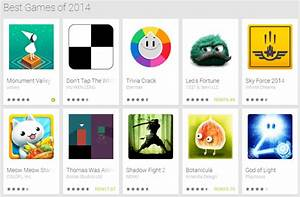 Google's 102 best games of 2014 collection is on Google Play