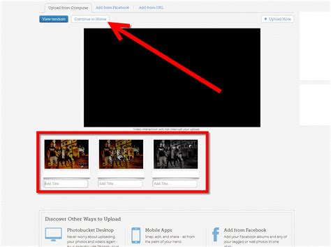 How To Upload Pictures To Photobucket
