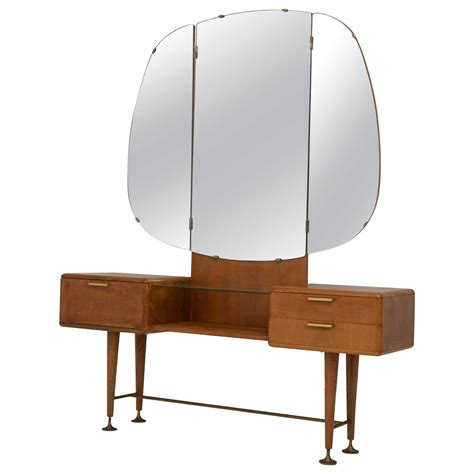 mid century vanity table mid century modern vanity or dressing table by a a
