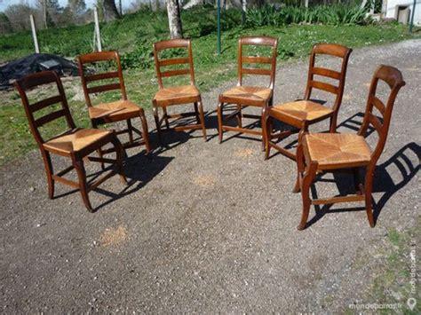 chaises paillées chaise paille ancienne d 39 occasion 72 à vendre pas cher