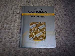 1990 Toyota Corolla Electrical Wiring Diagram Manual Dx