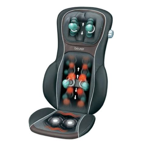 siege massant beurer beurer mg290 hd 3d shiatsu back and neck for 272 00