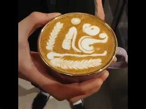 So we're going to start off by doing the heart. How to Make a Latte Art Heart   Perfect Coffee - part-1 - YouTube