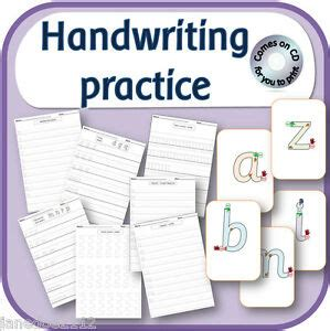 handwriting practice teaching correct letter formation