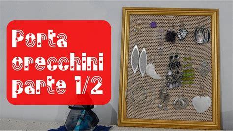 Cornice Porta Orecchini Cornice Porta Orecchini 1 2 Tutorial Uncinetto