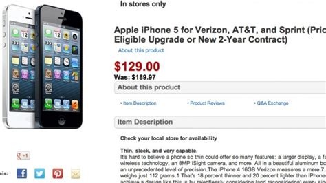 iphone 5 cheapest price iphone 5 price drops to 129 and iphone 4s to 39 on