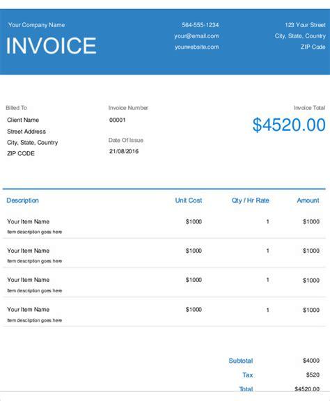 electrician invoice template   underestimate