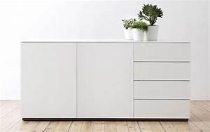 Sideboard 180 Breit : voice arctic sideboard 180 cm breit mit 3 schubladen ~ Watch28wear.com Haus und Dekorationen
