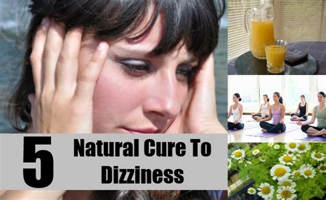 5 Effective Natural Cures For Dizziness