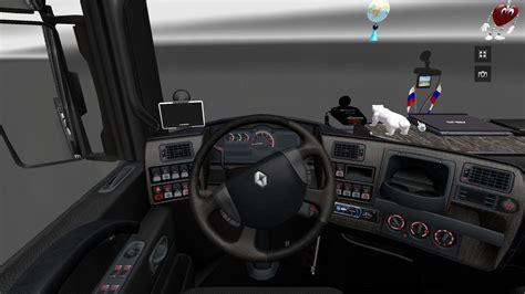 renault truck interior interior for renault magnum euro truck simulator 2 mods