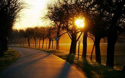 Country Road Desktop Background Backgrounds Hq Sun