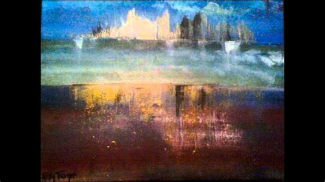 Abstract Landscape Contemporary Art Painting Youtube
