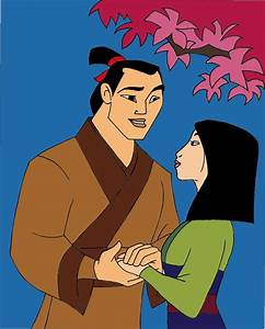 Mulan and Shang by grievousorvenom on DeviantArt