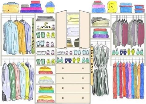 his and hers closet layout new closet