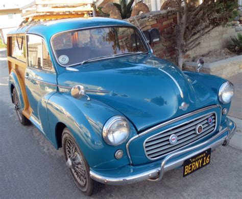 Other Makes Morris Minor Wagon Blue For Sale