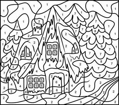 Coloring Number Pages Printable