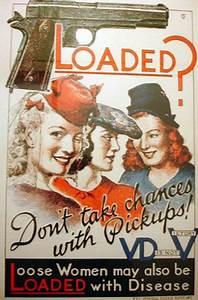 World War II Anti-VD Propaganda Posters – Flavorwire