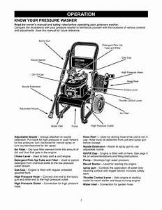 Craftsman 580768340 User Manual Pressure Washer Manuals