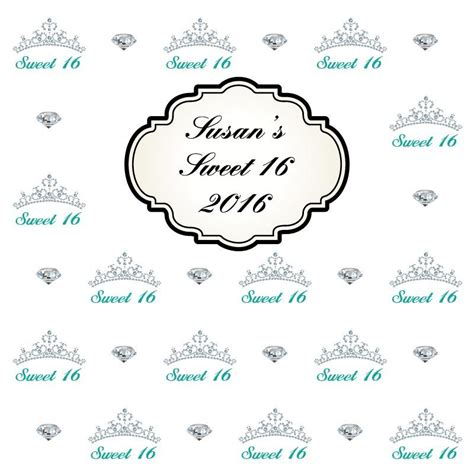 Sweet 16 Banner Template by Sweet 16 Banner Template Image Collections Template