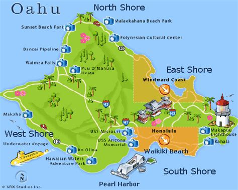 oahu hawai templos budistas playas  senderos