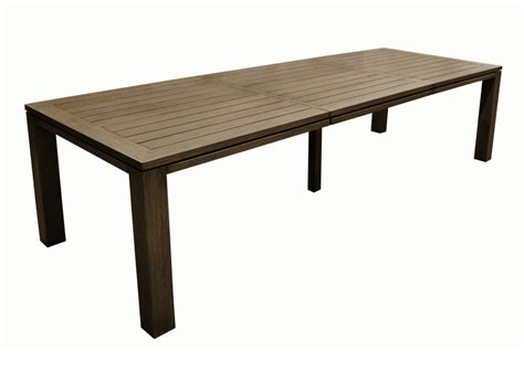 Table Or Table by Grande Table De Jardin Rectangle Fiero Proloisirs