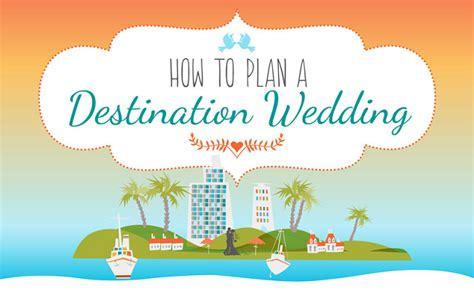 How To Plan A Destination Wedding [infographic]