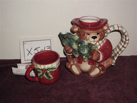 foto de Fitz & Floyd teapot snack therapy bear teapot and cup Other