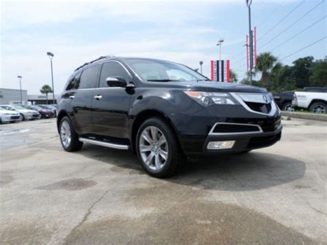 Sell Used 2013 Acura Mdx Advance Package Suv Luxury Nav