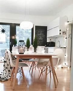 Weißer Esstisch Mit Stühlen : die besten 25 esstisch skandinavisch ideen auf pinterest st hle skandinavisch wei er ~ Markanthonyermac.com Haus und Dekorationen