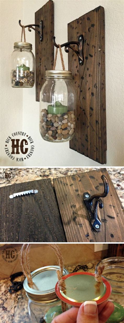 Harley Davidson Bathroom Accessories by 20 Diys For Your Rustic Home Decor For Creative Juice