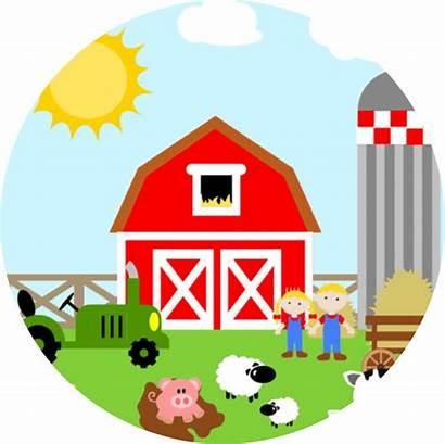 Clipart Farm Birthday Happy Transparent Al Farming