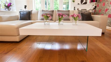 Round tables, such as the greenforest coffee table, are an exceptional choice for pairing with sectional sofas. Tips to Opt For Large Coffee Table which Look the Best - MidCityEast