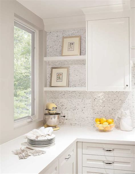 White Brick Kitchen Tiles Design Ideas