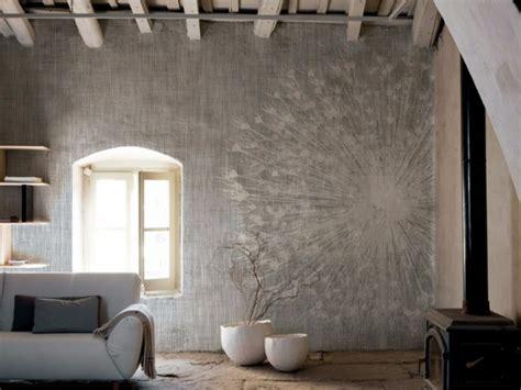 tapete mit pusteblume tapete im wohnzimmer inkiostro bianco 50 modelle